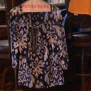 INC long sleeve blouse